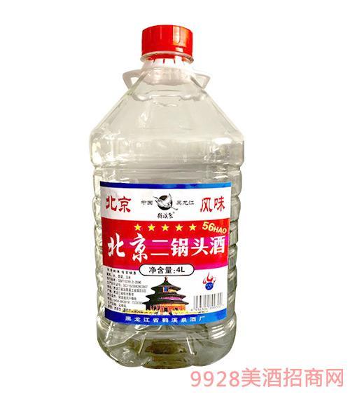 北京二锅头酒56度4L