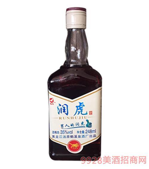 润虎酒35度248ml