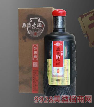 杜康原浆老酒窖藏10-52度500ml