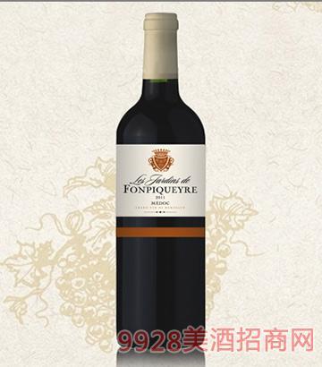 碧翠庄花园干红葡萄酒12.5度750ml