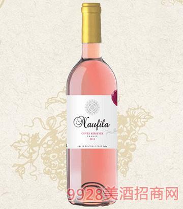 乐菲桃红葡萄酒12度750ml