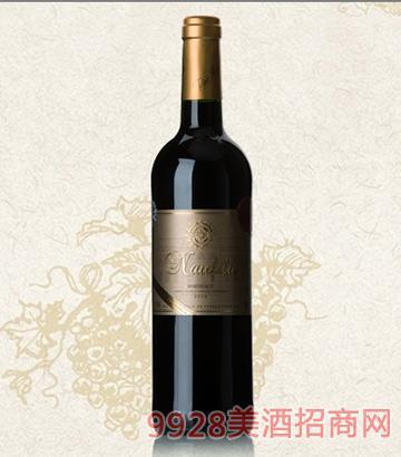 乐菲波尔多白金干红葡萄酒12.5度750ml