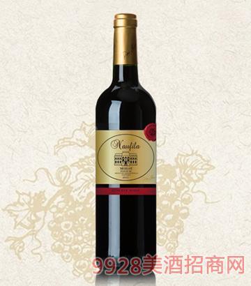 乐菲黄金美乐干红葡萄酒13.5度750ml