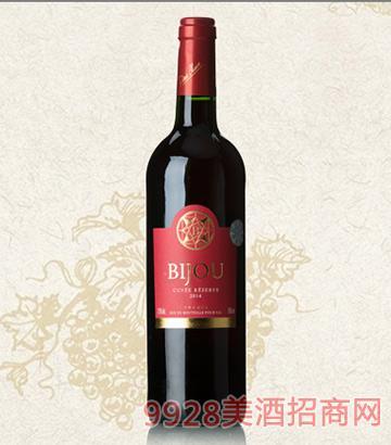 碧爵干红葡萄酒12度750ml