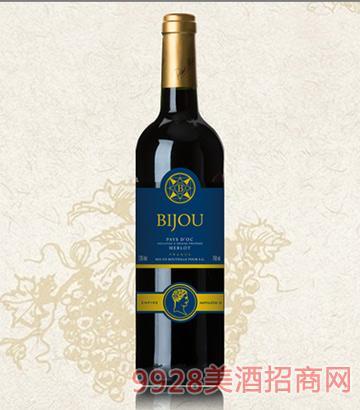 碧爵窖藏干红葡萄酒13度750ml
