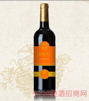 碧爵朗格多克干红葡萄酒13度750ml