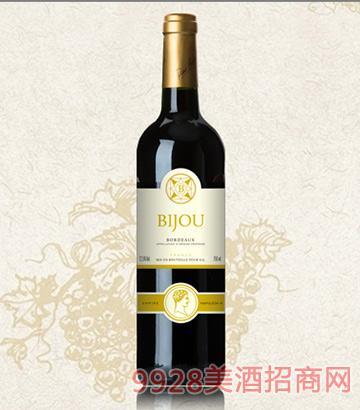 碧爵波尔多佳酿干红葡萄酒12.5度750ml