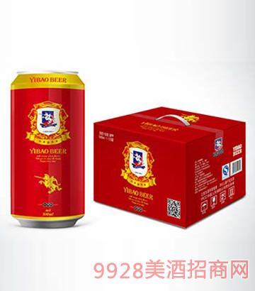 伊堡啤酒精酿易拉罐啤酒500ml-10°