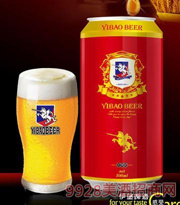 伊堡啤酒500ml-10°精酿易拉罐啤酒