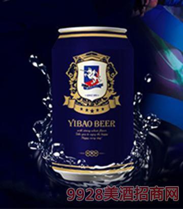 伊堡啤酒330ml-9°纯酿易拉罐啤酒
