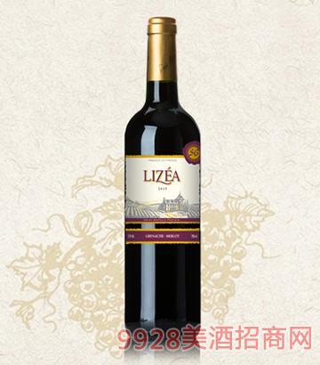 利姿庄园窖藏美乐干红葡萄酒13度750ml