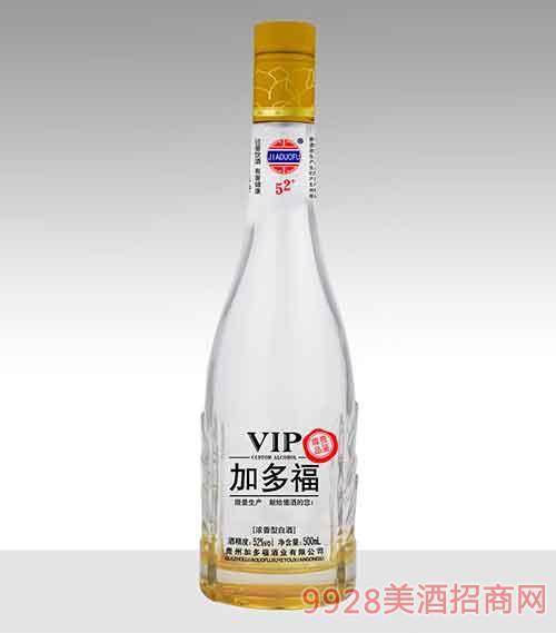 贵州加多福酒尊贵品鉴浓香型42度 52度500ml