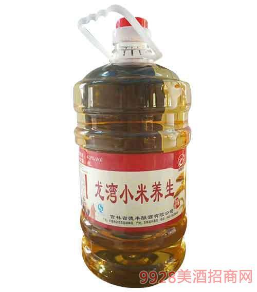 吉林龙湾小米养生酒40度4L