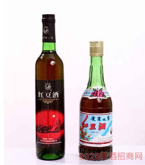 兴安岭酒红豆酒