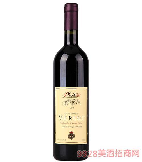 维拉美乐干红葡萄酒14度750ml