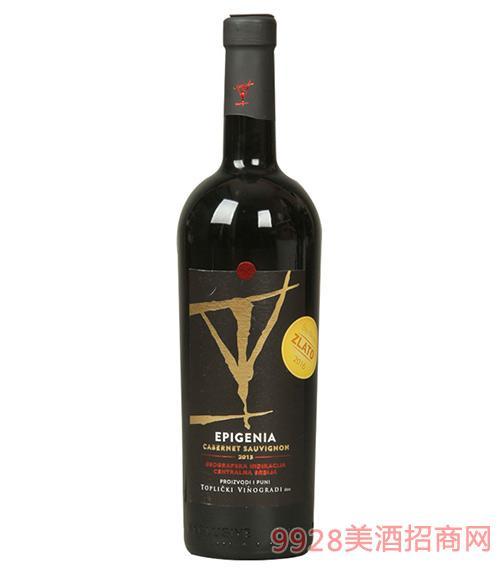 托比克爵士干红葡萄酒13度750ml