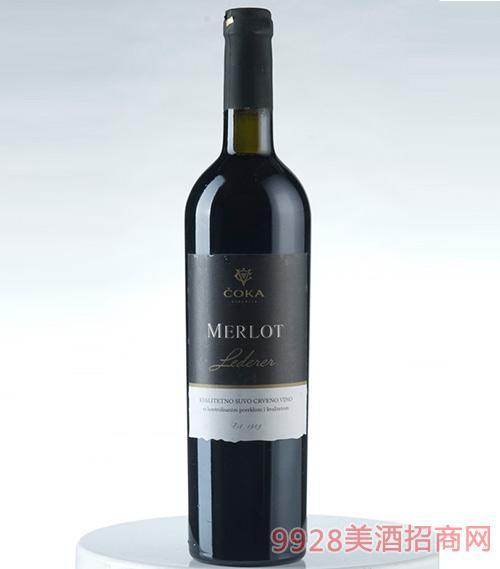 乔卡美乐干红葡萄酒12.3度750ml
