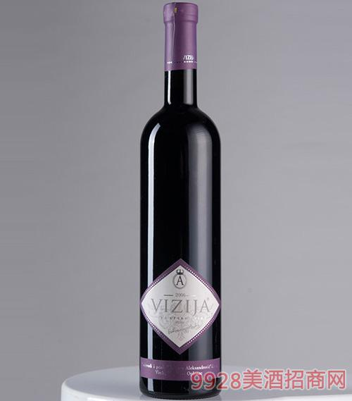 维日亚干红葡萄酒13.7度750ml
