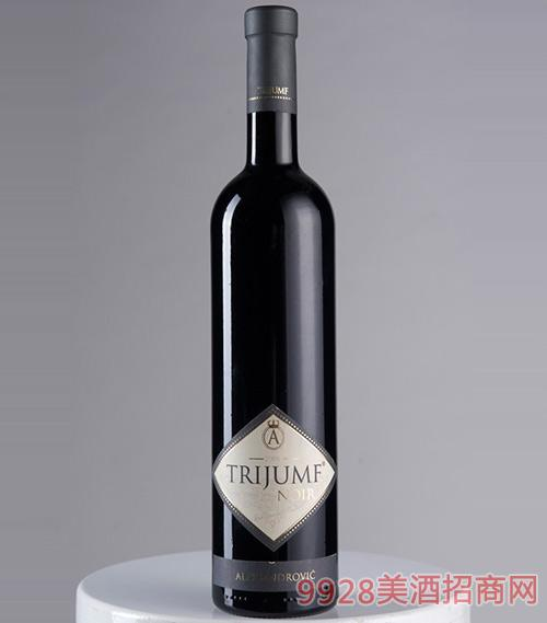 德利尤干红葡萄酒13.7度750ml