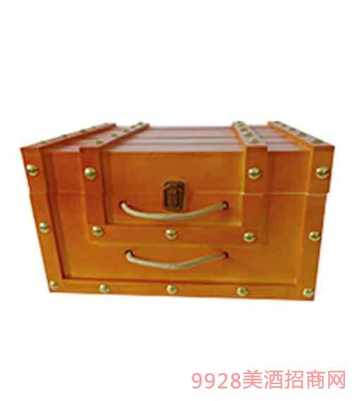 �M口6支木箱包�b
