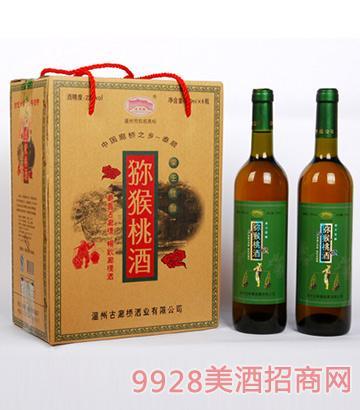 猕猴桃酒果酒礼盒装22度750ml