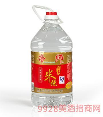 帝师陈年米烧酒40度2.25L、4.5L