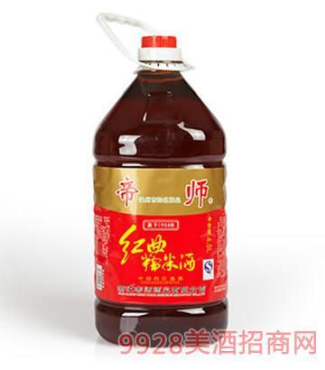 帝师红粬糯米酒15度4.5L