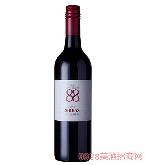 澳大利亚88经典西拉红葡萄酒(国际版)13.4度750ml