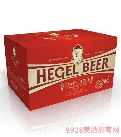 黑格尔啤酒12°P218ml
