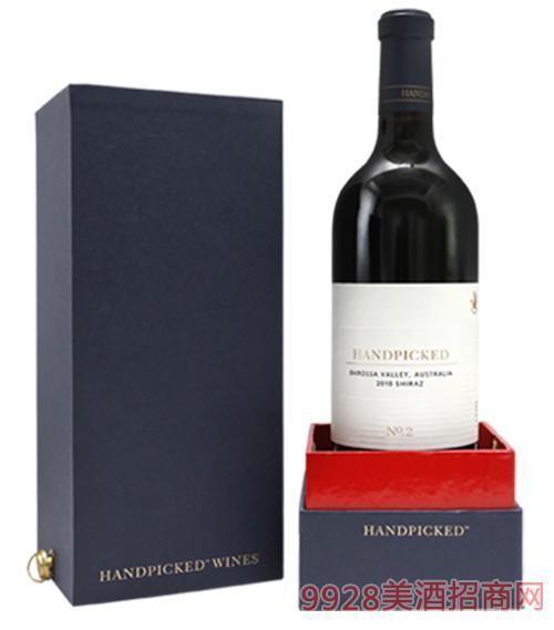 澳大利亚首彩臻美2号2010西拉红葡萄酒14.2度750ml