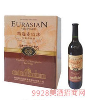 欧亚庄园精选赤霞珠红葡萄露酒