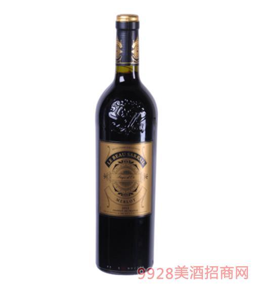 萨意美乐干红葡萄酒13度