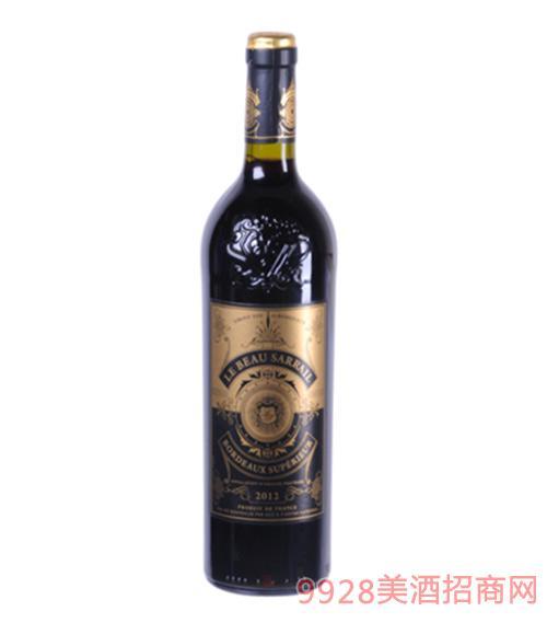 萨意朗格多克干红葡萄酒13度