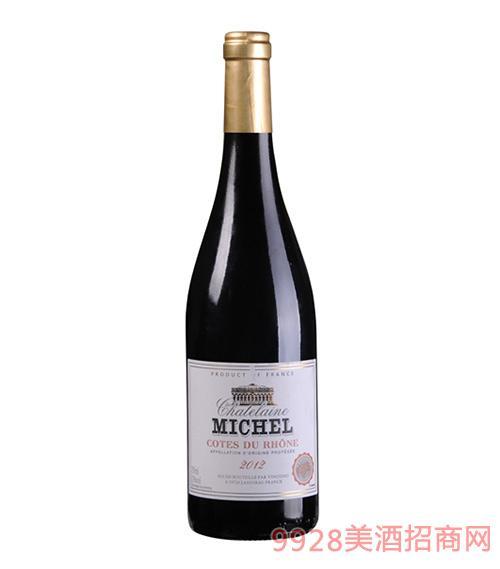 米歇尔庄园罗纳河谷干红葡萄酒13度