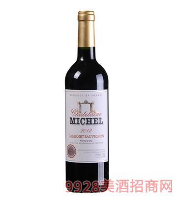 米歇尔庄园赤霞珠干红葡萄酒13度750ml