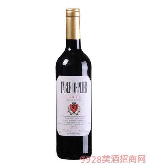 小里鹏精致干红葡萄酒12度750ml