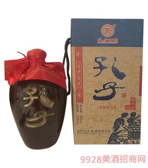 山东孔子酒盛世和谐浓香型45度500ml
