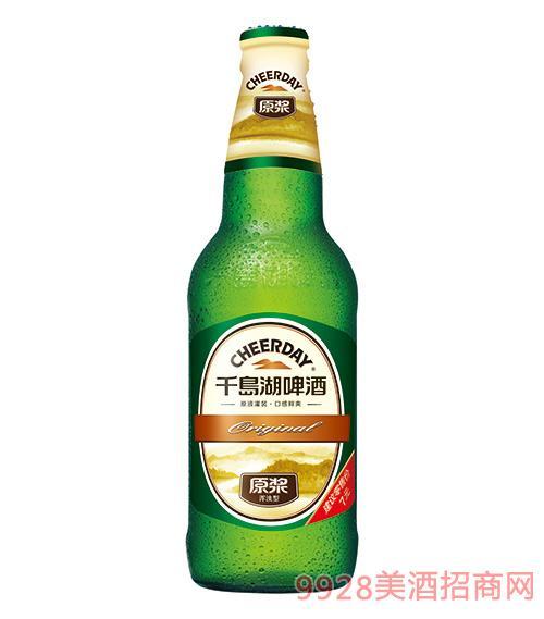 千岛湖啤酒9度420ml原浆啤酒
