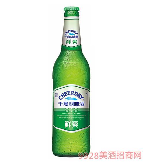千岛湖啤酒8度488ml鲜爽啤酒