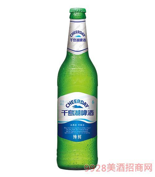 千岛湖啤酒8度488ml纯鲜啤酒
