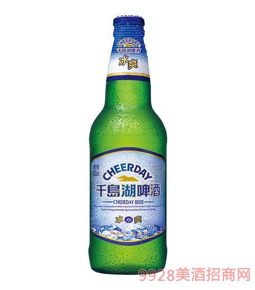 千岛湖啤酒8度420ml冰爽啤酒