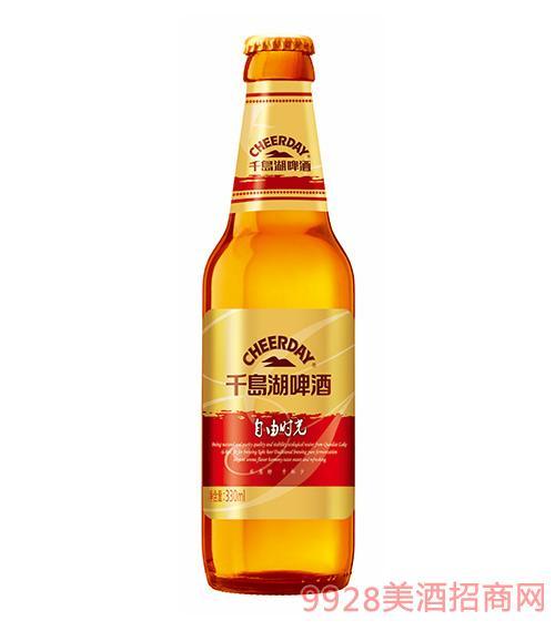 千岛湖啤酒7度330ml淡爽