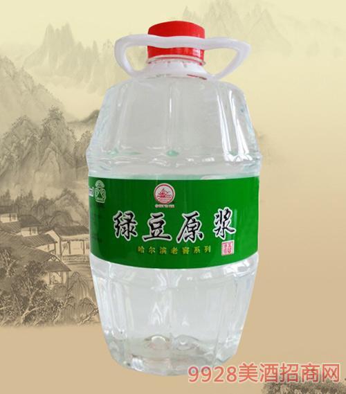 哈尔滨老窖酒绿豆原浆白酒