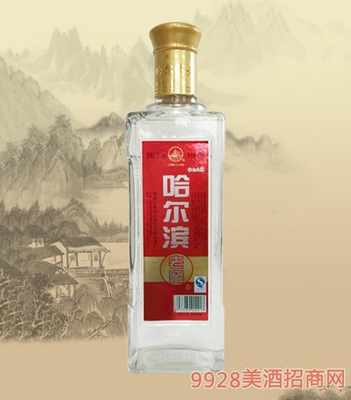哈尔滨老窖酒光瓶