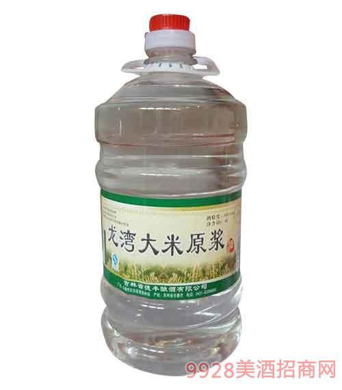 吉林龙湾大米原浆酒50度4L