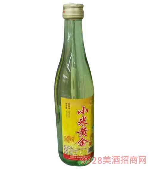 吉林前岗香小米黄金酒40度500ml