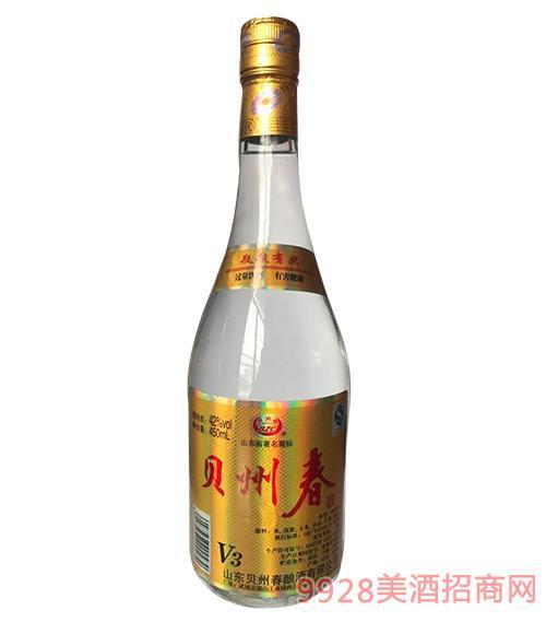 贝州春酒V3浓香型42度450ml