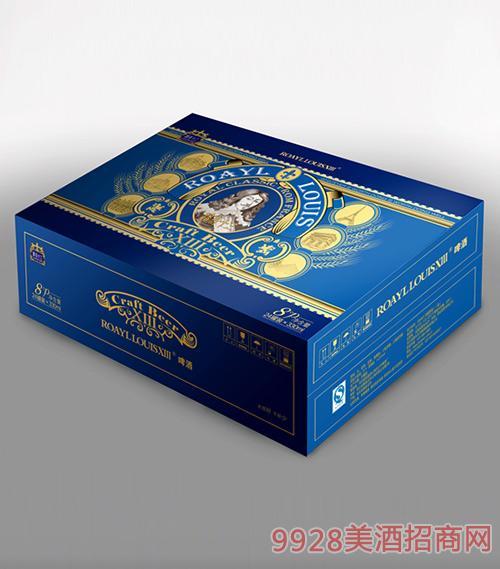 路易十三啤酒8度小藍罐箱夜場啤酒