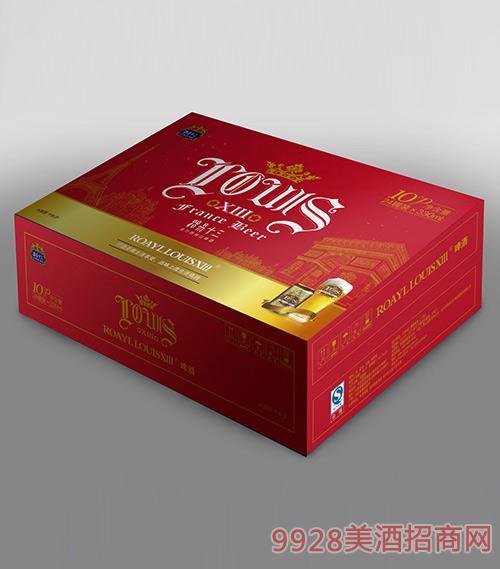 路易十三啤酒红卡黄啤330ml箱子