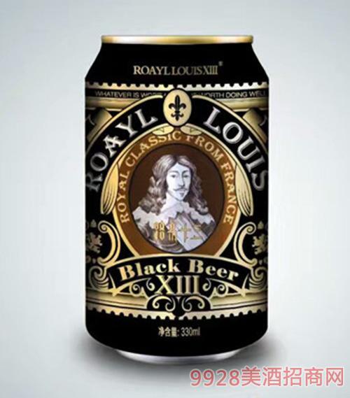 路易十三啤酒至尊黑啤330ml